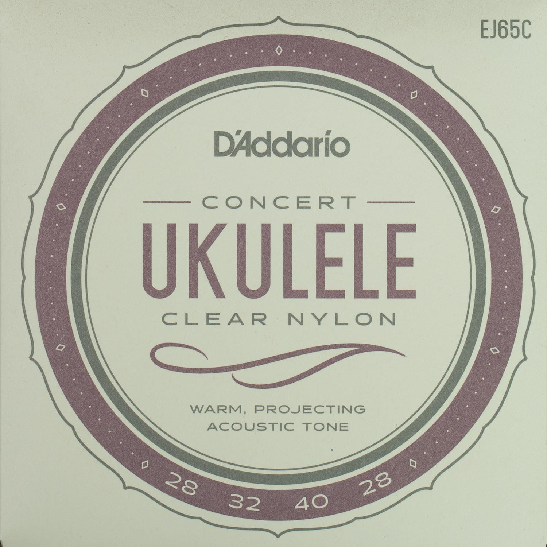 D'Addario EJ65C Pro-Arte Concert Clear Nylon String Set