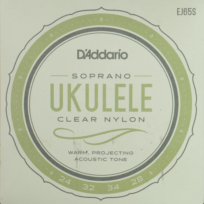 D'Addario EJ65S Pro-Arte Clear Nylon Soprano String Set