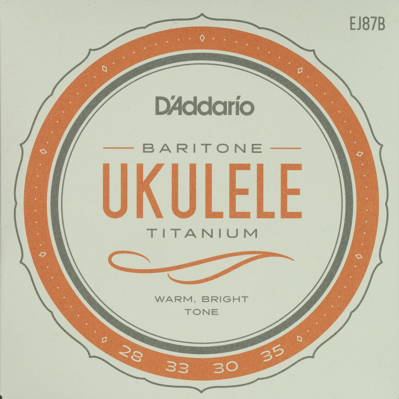 D'Addario EJ87B Titanium Baritone String Set