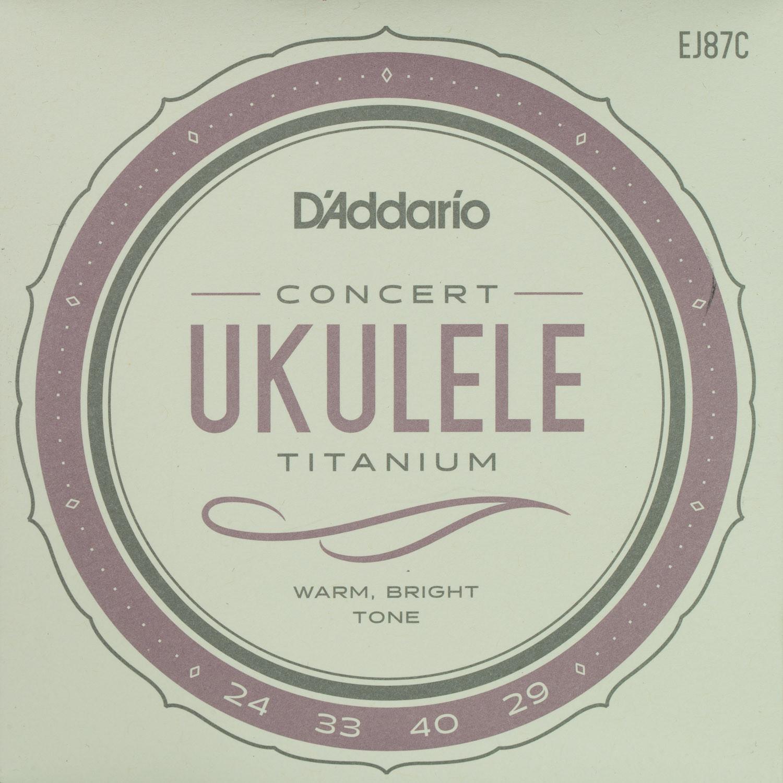 D'Addario EJ87C Titanium Concert String Set
