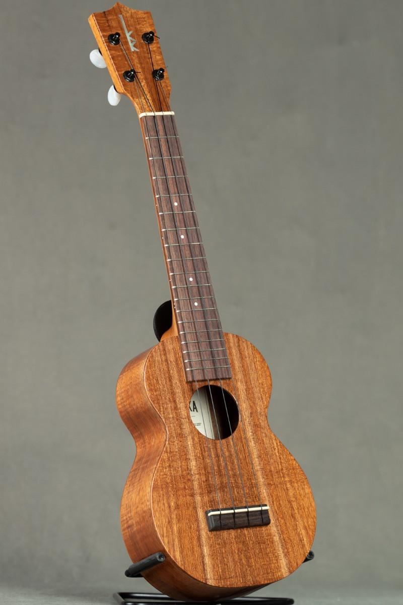 Kamaka Koa Long Neck Soprano (HF-1L  Select from Available)