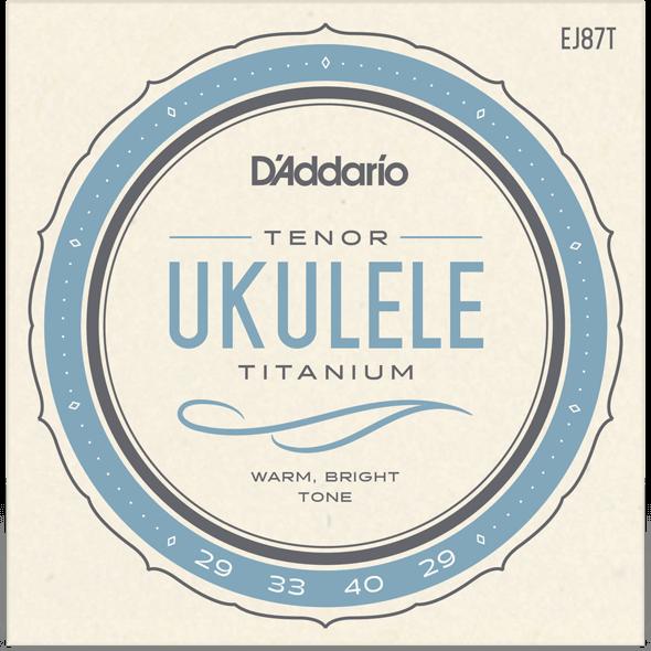 D'Addario EJ87T Titanium Tenor String Set