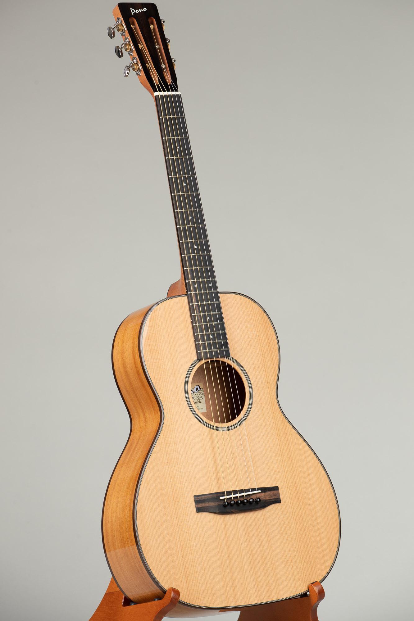 Pono Cedar Top Mahogany Guitar (OO-20(C) 3103)