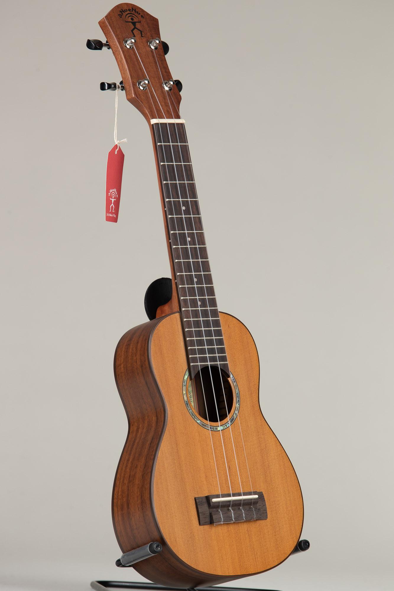 aNueNue S4 Hawaiian Dream Series Solid Cedar Top Soprano