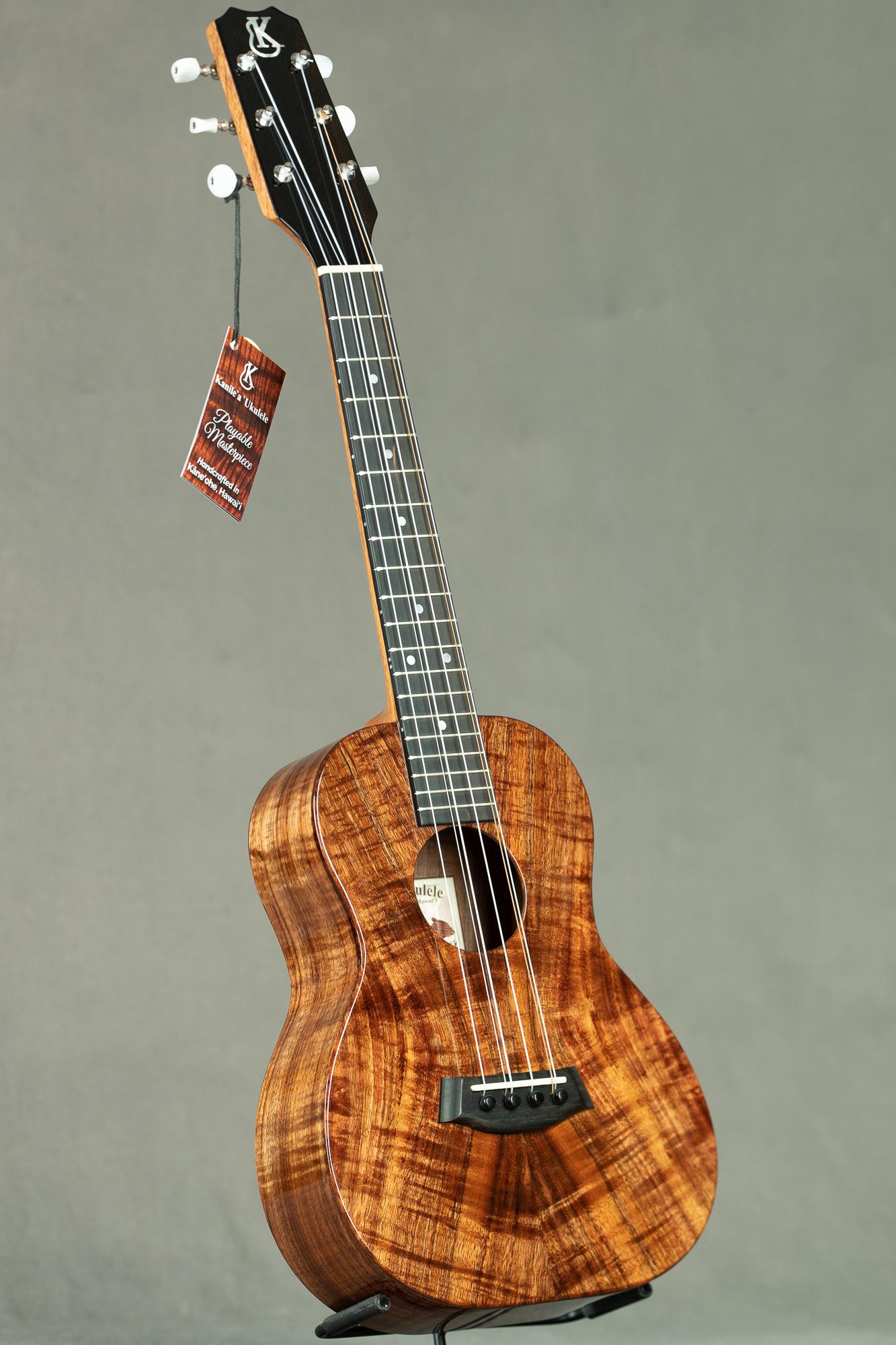 Kanile'a Koa 6-String Tenor (K-1 T6 Tru-R #24243)