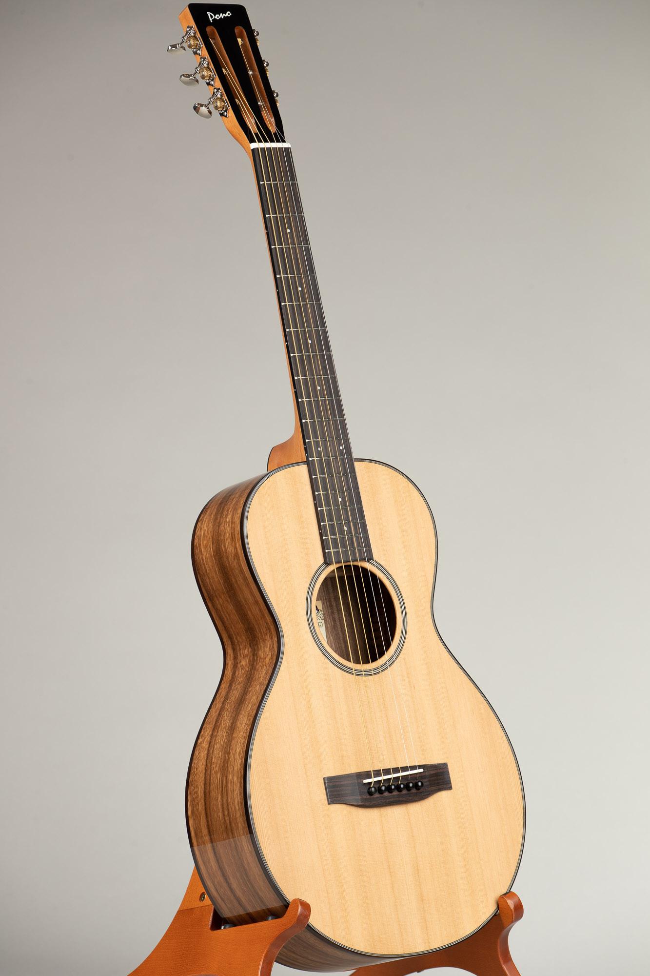 Pono Cedar Top Acacia Single O Steel String Guitar (O-10C 2980)