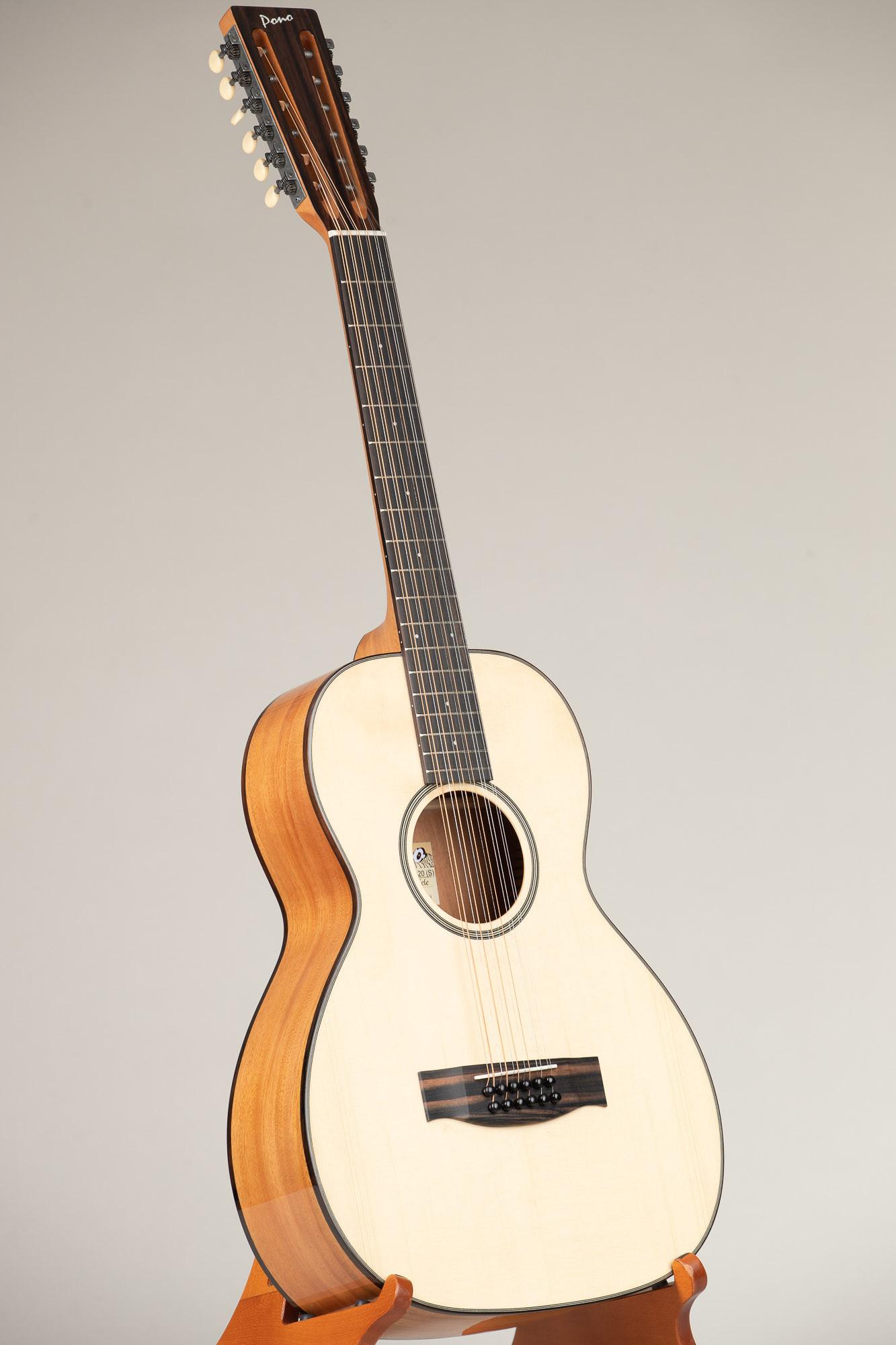 Pono Spruce Top Mahogany OO 12 String Guitar (OO-20-12(S) 3218)