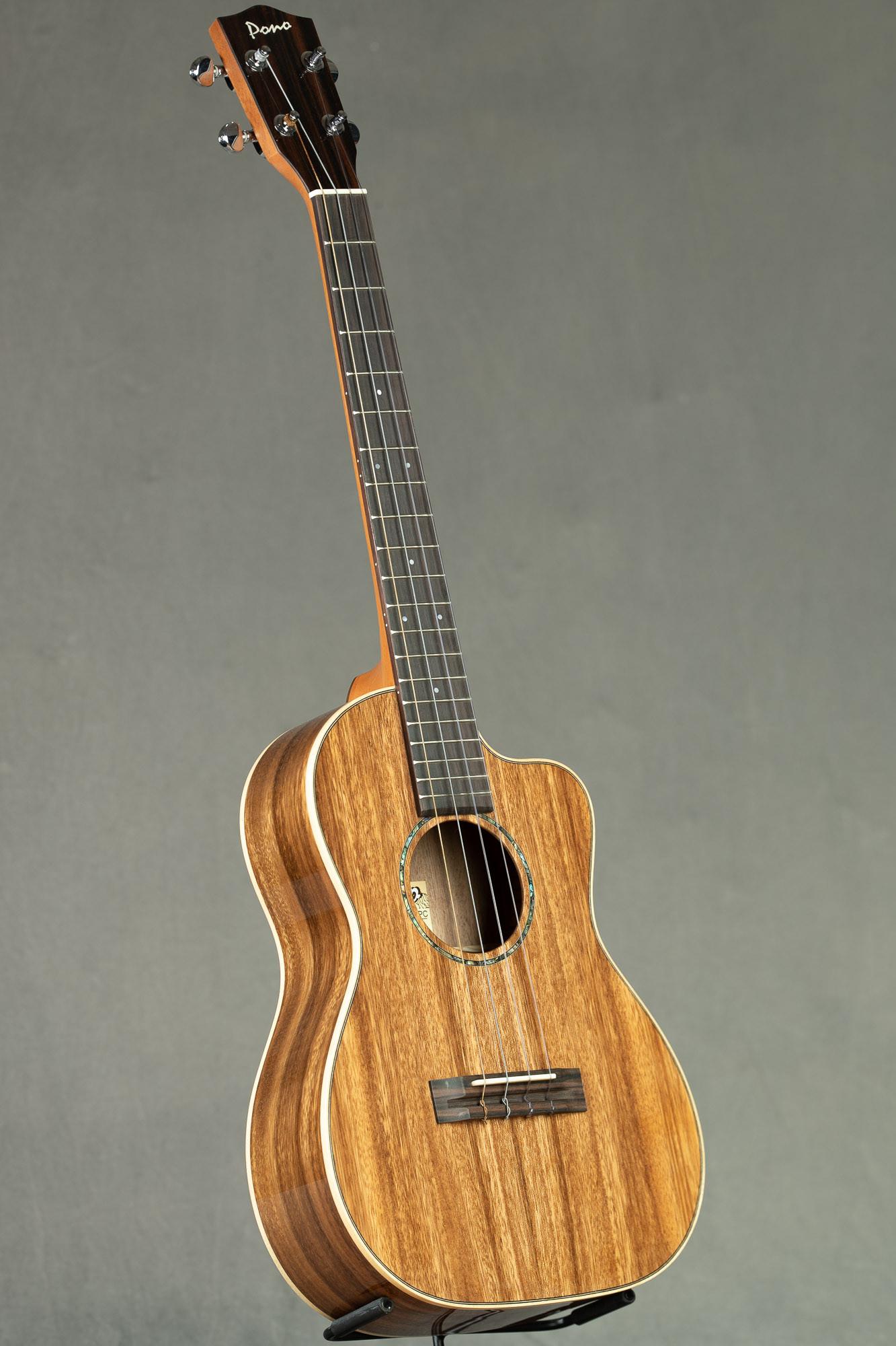 Pono Pro Classic Acacia Cutaway Baritone (ABC-PC 0173)