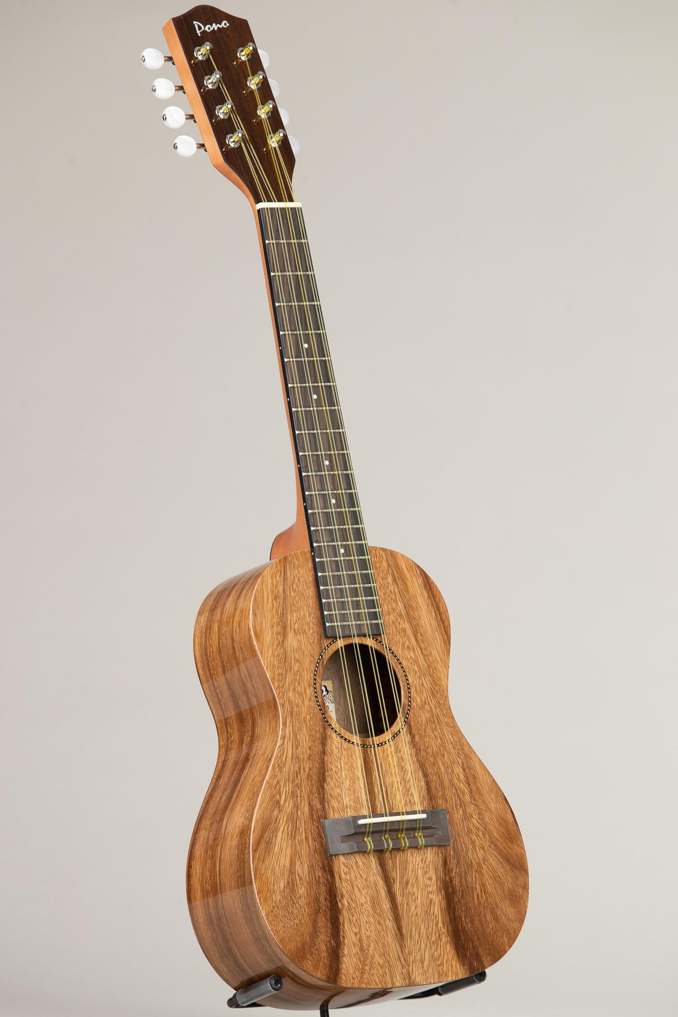 Pono Acacia Tenor Deluxe Eight String (ATD-8 4257)