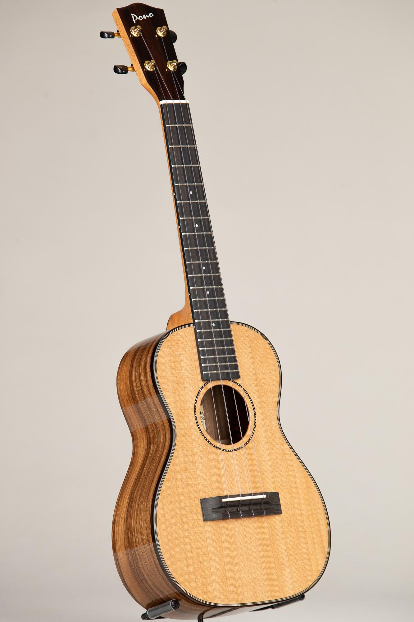 Pono Cedar Top Acacia Deluxe Tenor (ATD-CR 4420)