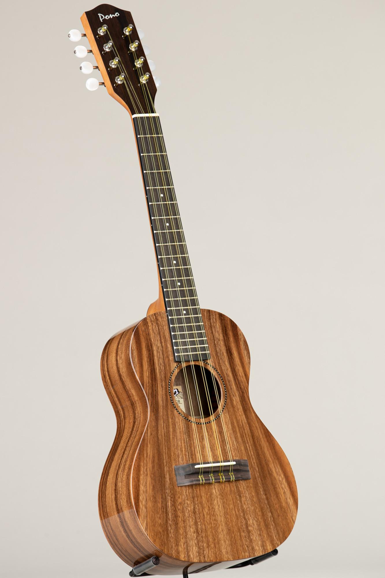 Pono Acacia Tenor Deluxe Eight String (ATD-8 4285)