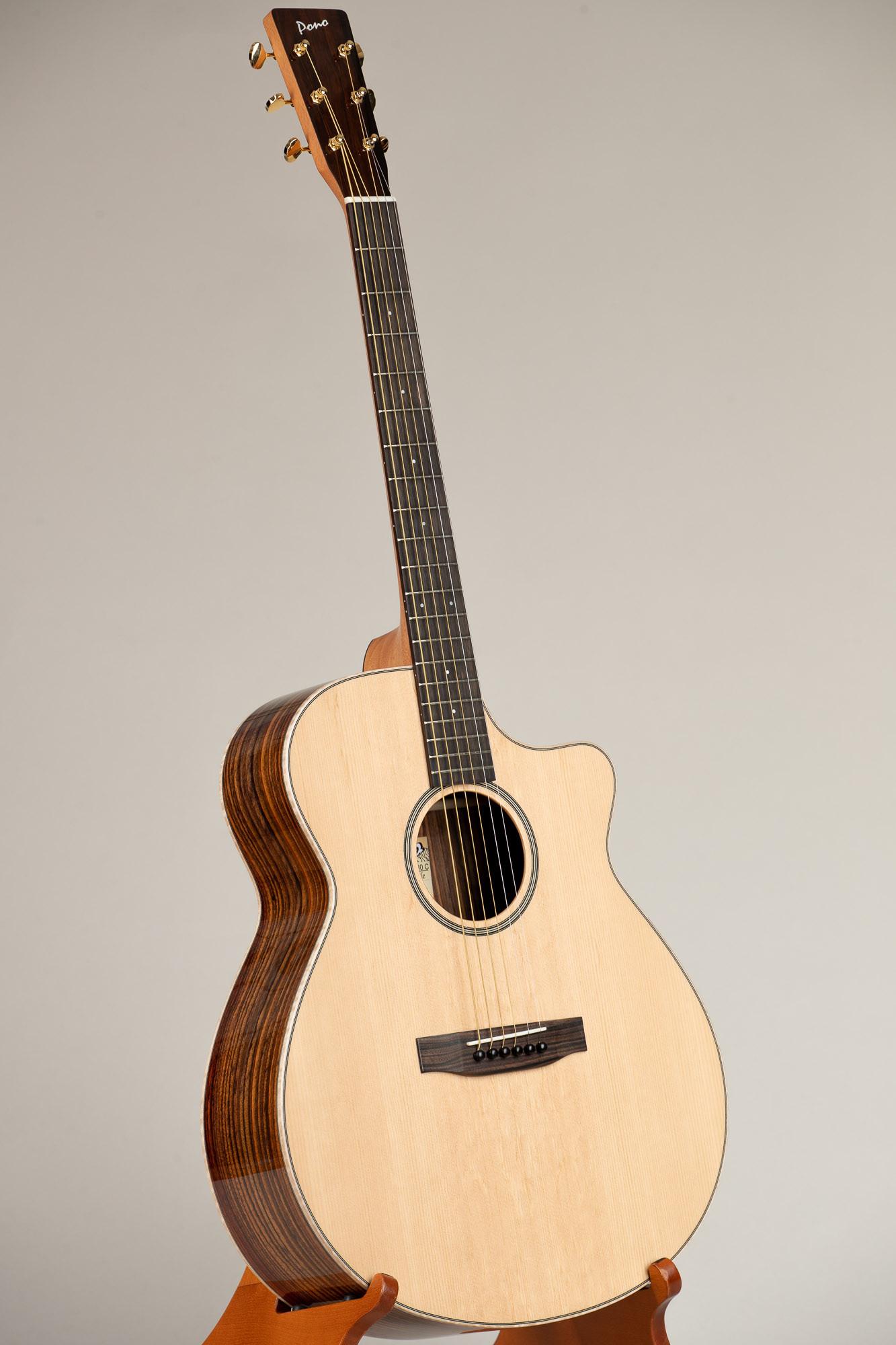 Pono Spruce Top Rosewood Grand Auditorium Guitar (GA-30 4697)