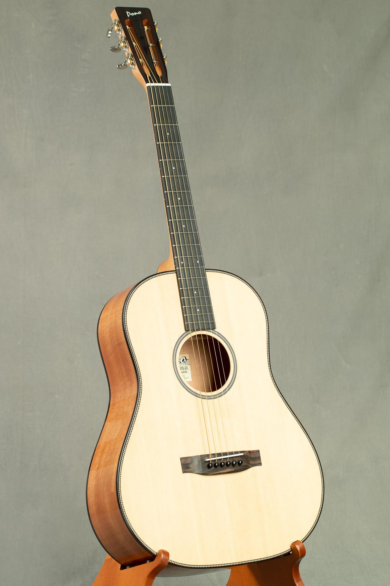 Pono Spruce Top Mahogany Sloped Shoulder Dreadnaught Guitar (DS-20 3440)