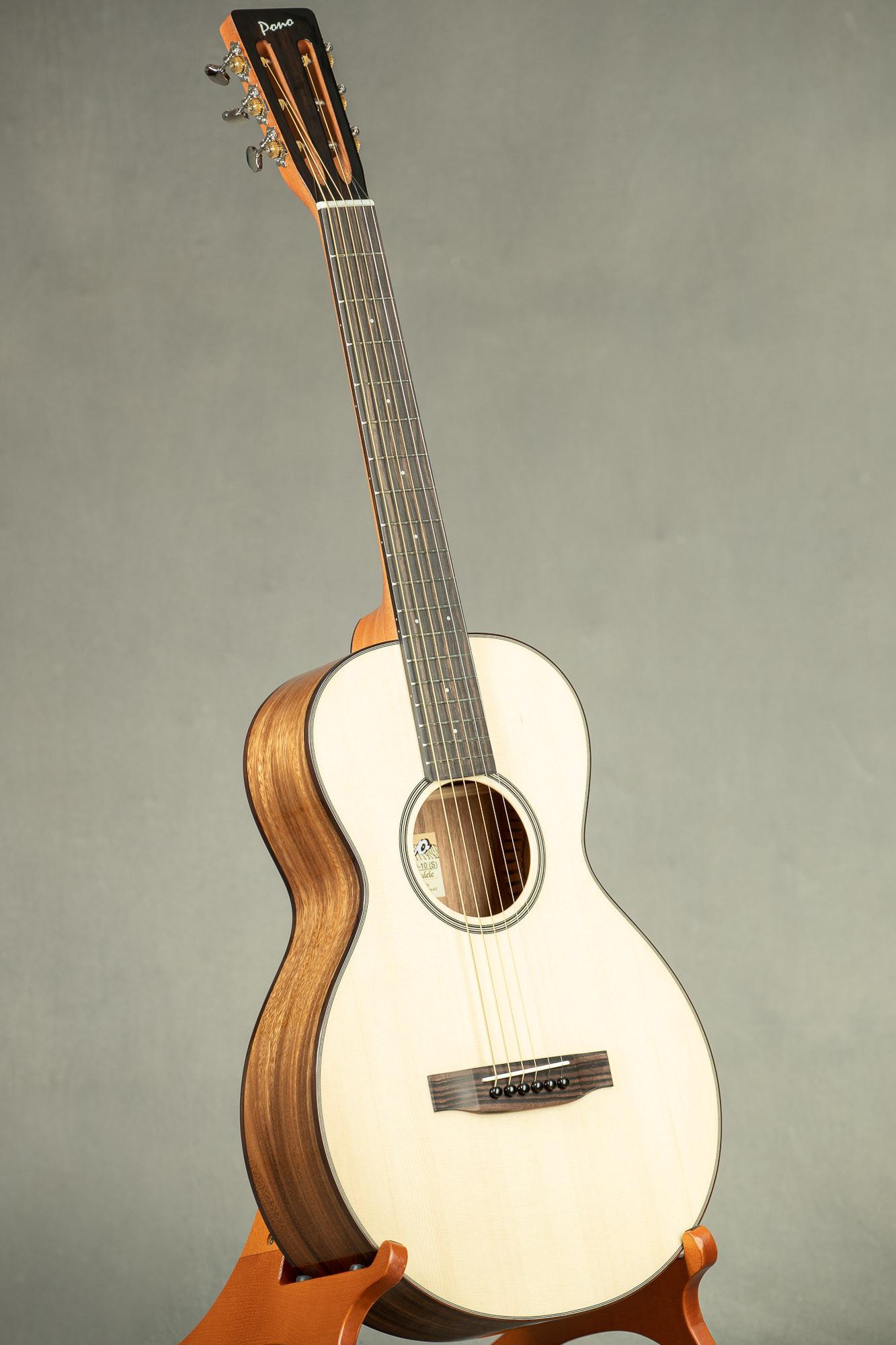 Pono Spruce Top Acacia Single O Steel String Guitar (O-10S 3215)