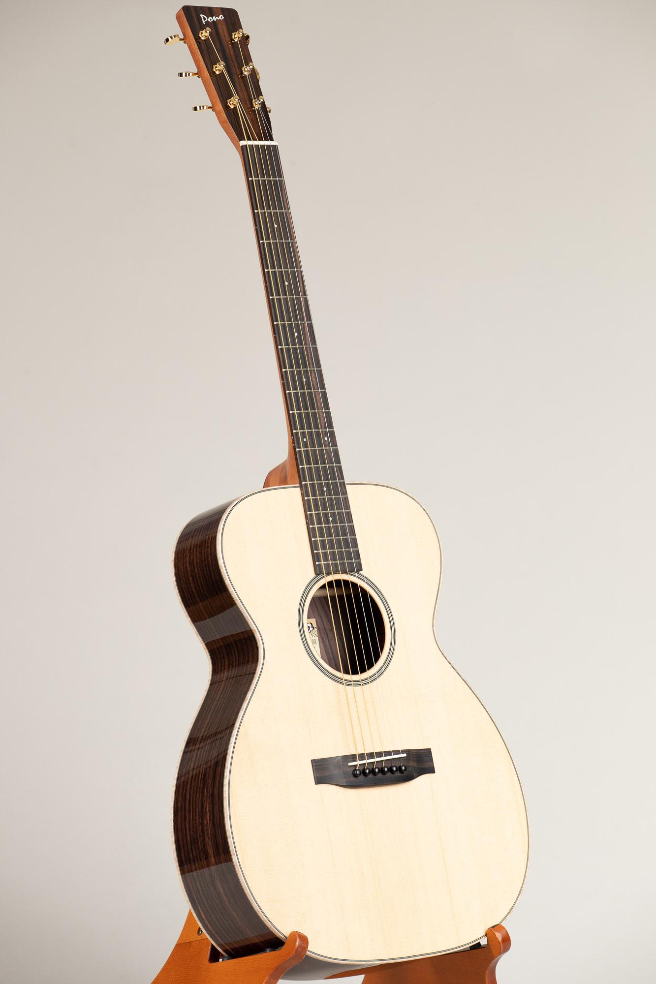 Pono Spruce Top Rosewood OM Steel String Guitar (OM-30(S) 4681)