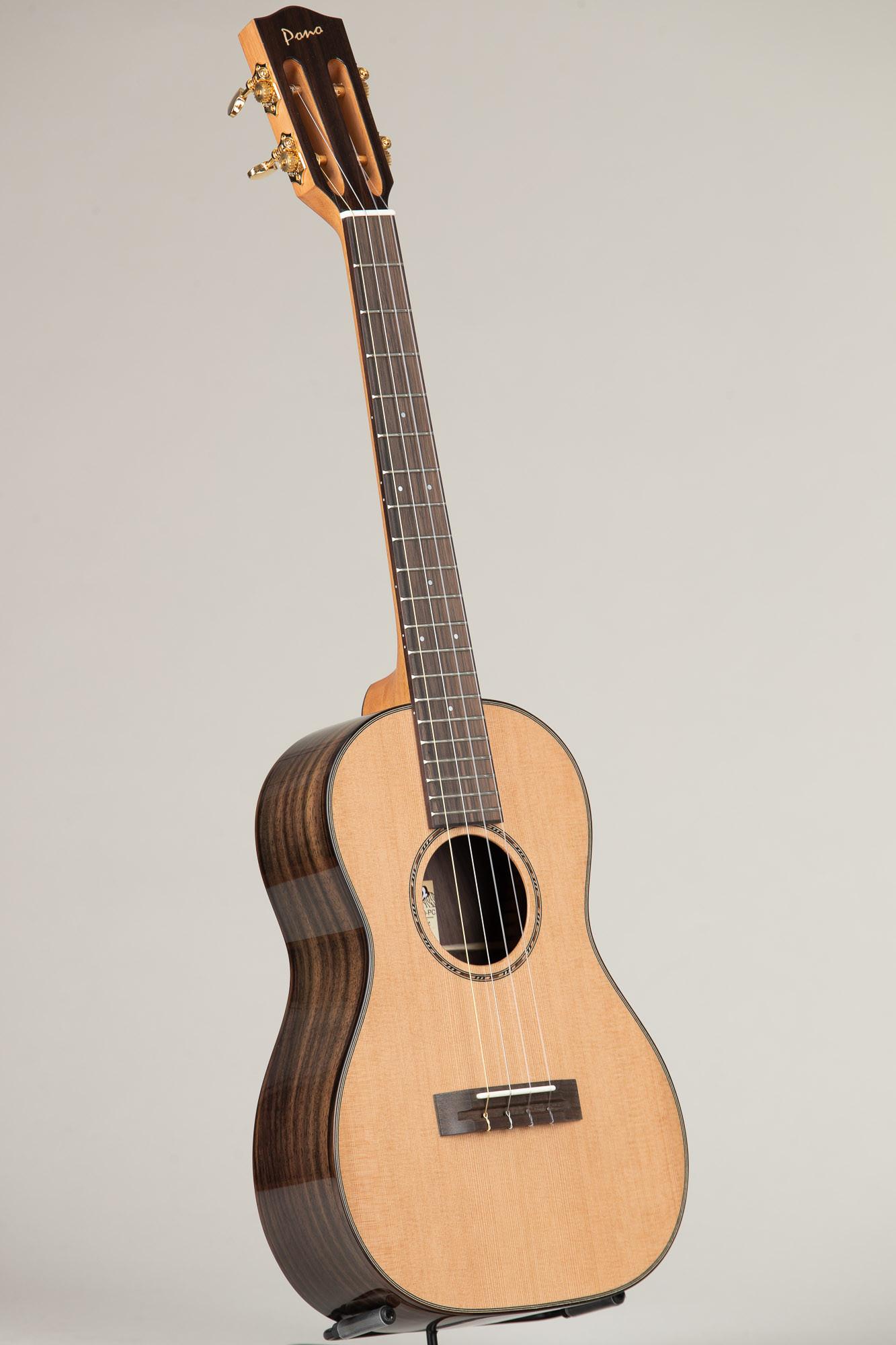 Pono Cedar Top Rosewood Baritone Slothead (RBSH(C)PC 4601)