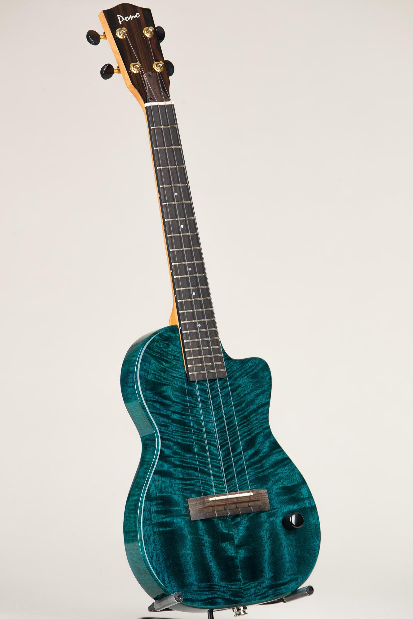 Pono Tenor Electric Mango Deluxe LE (TE-MDB 4381)