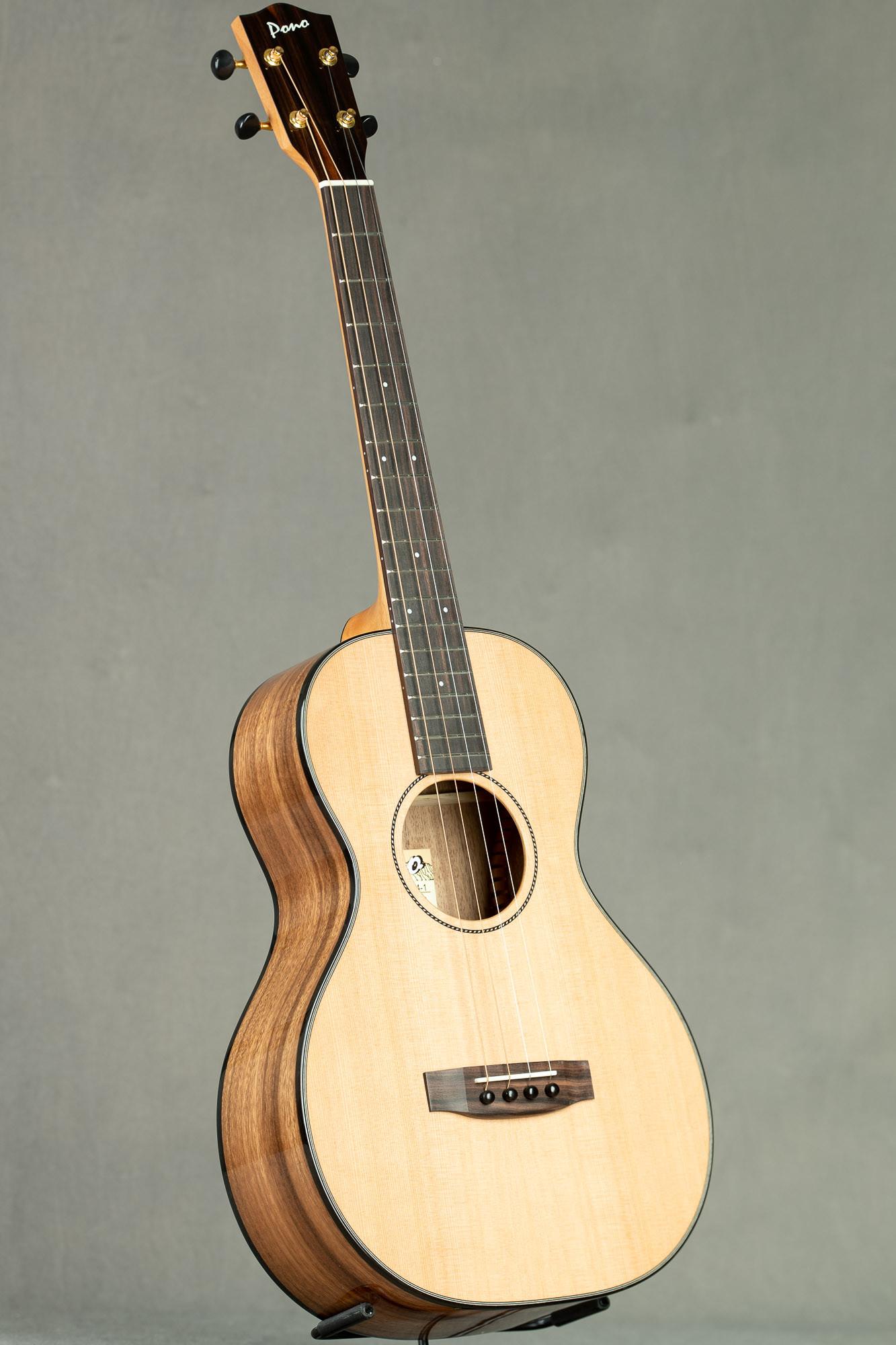 Pono Cedar Acacia Steel String Baritone (UL4-1 2890)
