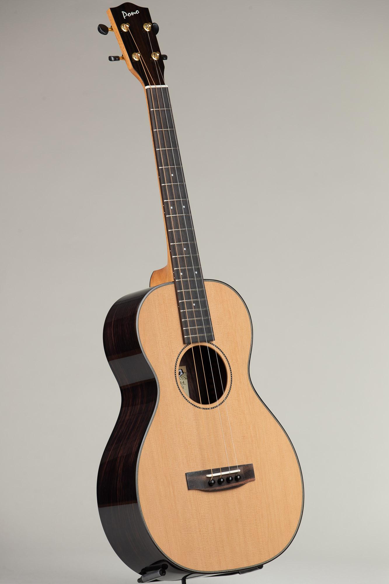 Pono Cedar Rosewood Steel String Baritone (UL4-4 3035)