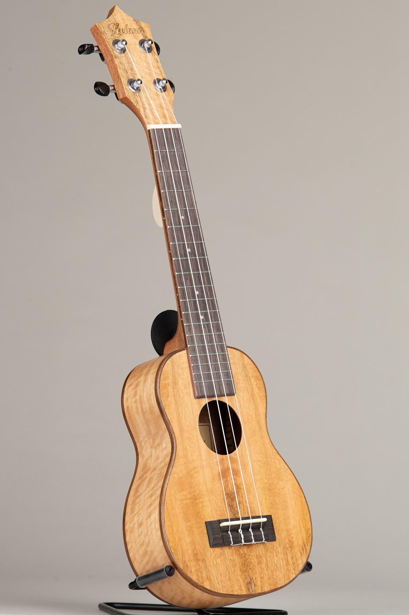 Leolani Mango Wood Long Neck Soprano (SQ85G 0082)