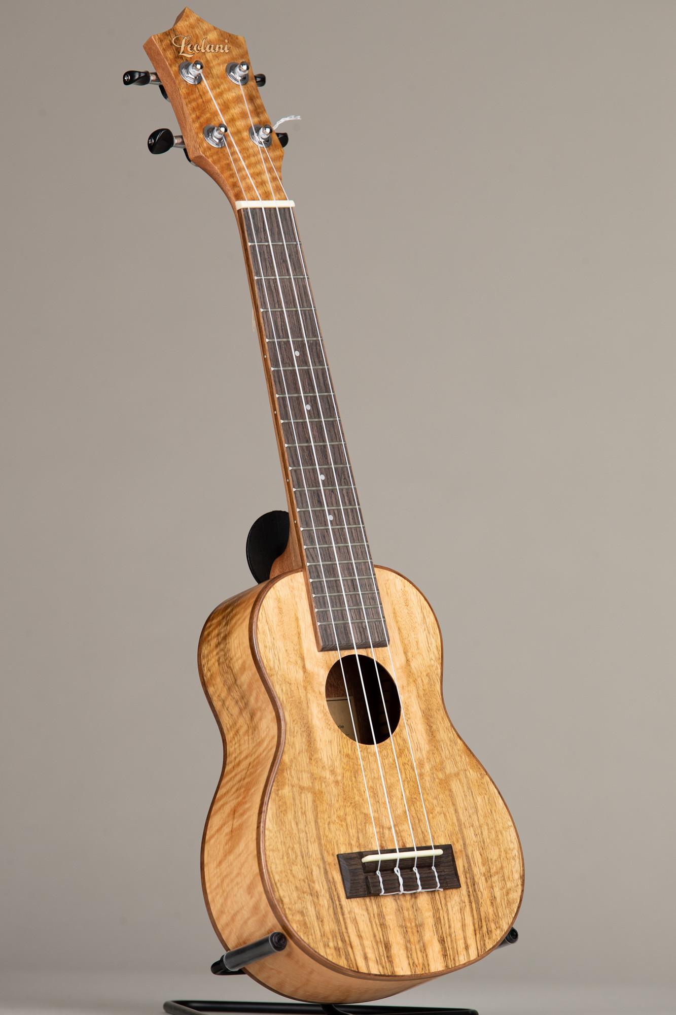 Leolani Mango Wood Long Neck Soprano (SQ85G 0097)