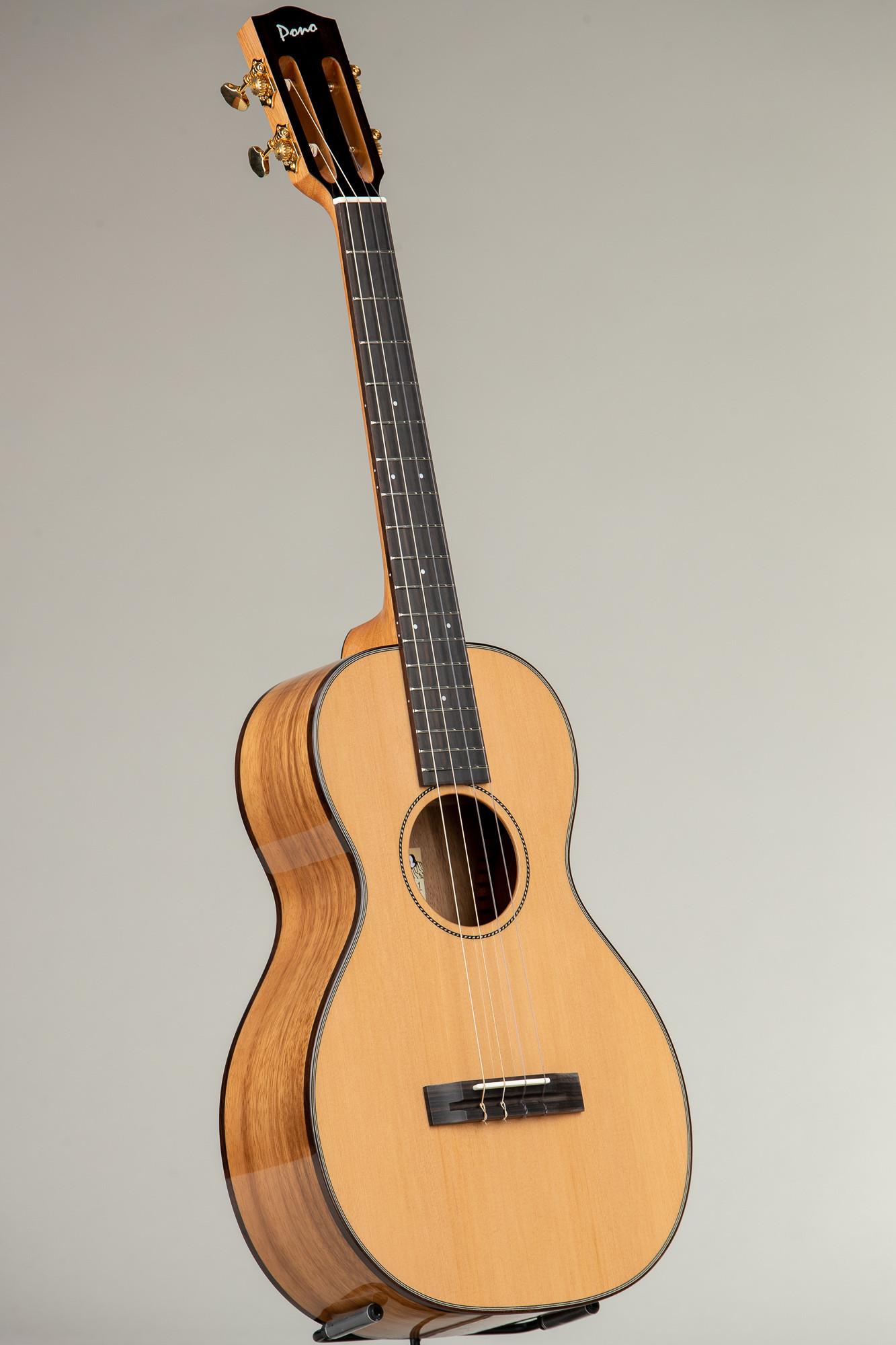 Pono Cedar Top Acacia UL Baritone (UL4N-1 3211)