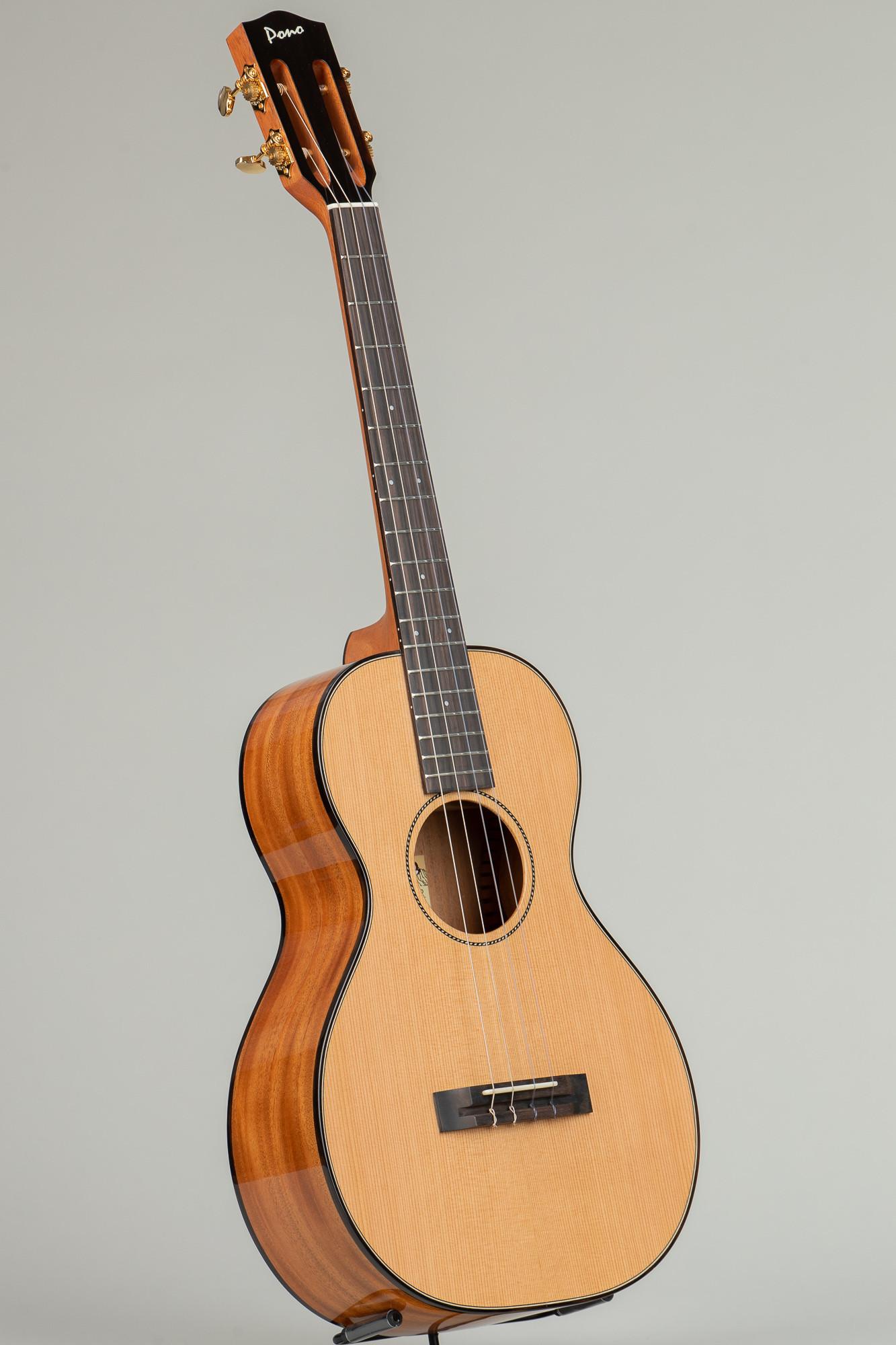 Pono Cedar Top Mahogany UL Baritone (UL4N-2 Select from Available)