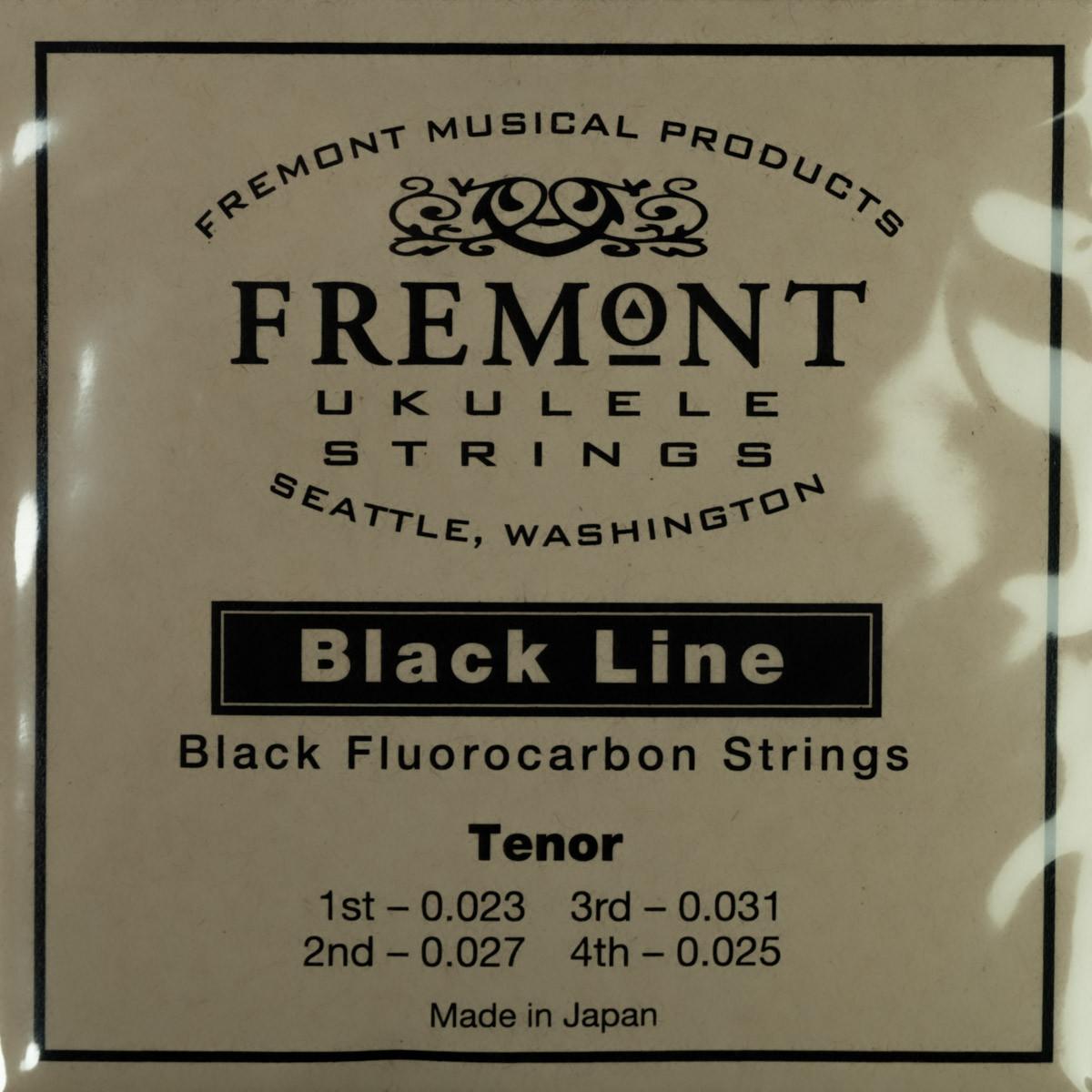 Fremont Ukulele Strings - Blackline-Tenor (High or Low G)