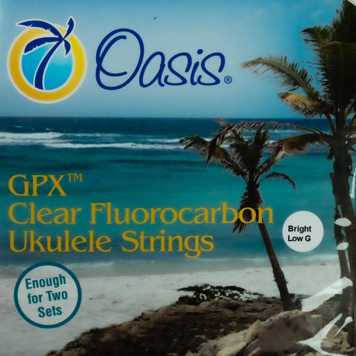 Oasis Fluorocarbon Strings (UKE 8001 Bright Low G)