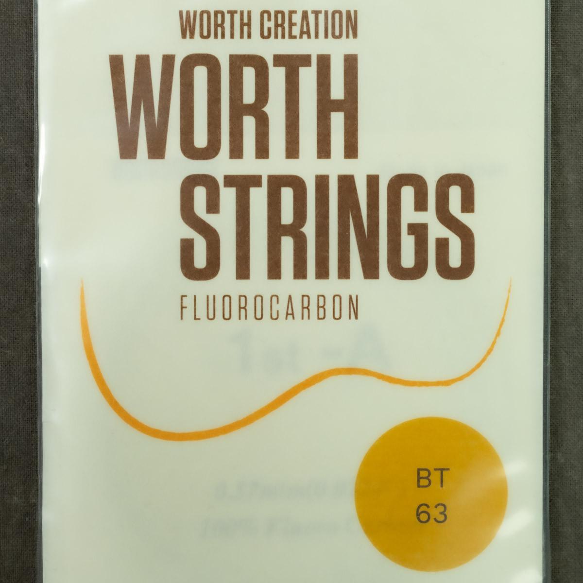 Worth Strings - BT Brown Tenor Plain High G