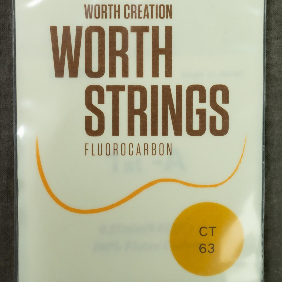 Worth Strings - CT Clear Tenor Plain High G