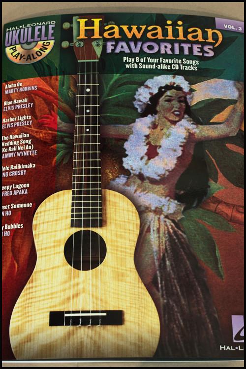 Hawaiian Favorites-   Volume 3 Book/CD