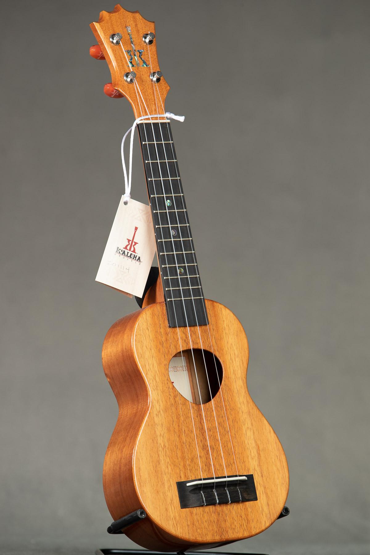 KoAloha Koa Gloss Soprano (KSM-00, Select from Available)