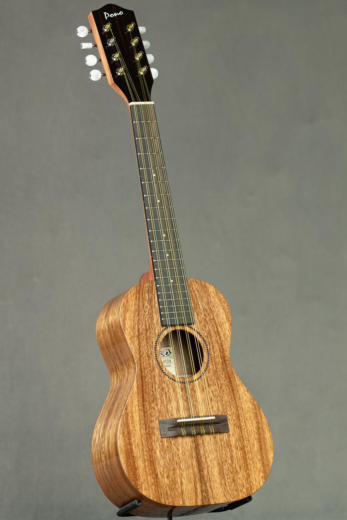 Pono Acacia Tenor Deluxe Eight String (ATD-8 216)