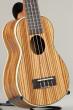 Leolani Zebra Wood Long Neck Soprano (SQ22G)