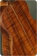 Petros Custom Quilted Redwood Koa Tenor #33