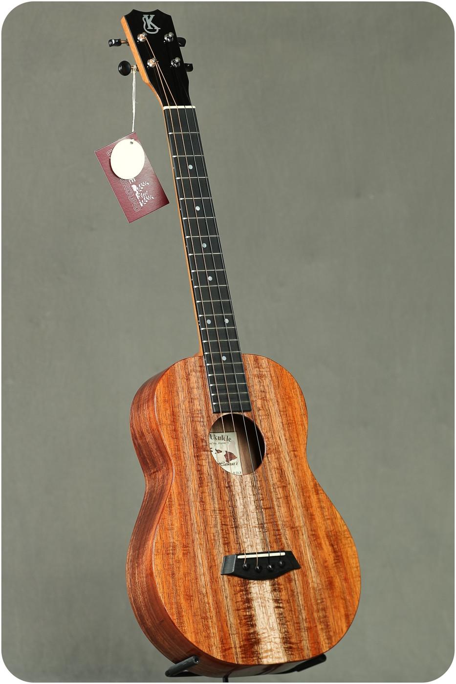 Kanile'a Koa Gloss Baritone (K-1 B DLX Tru-R G #21957)