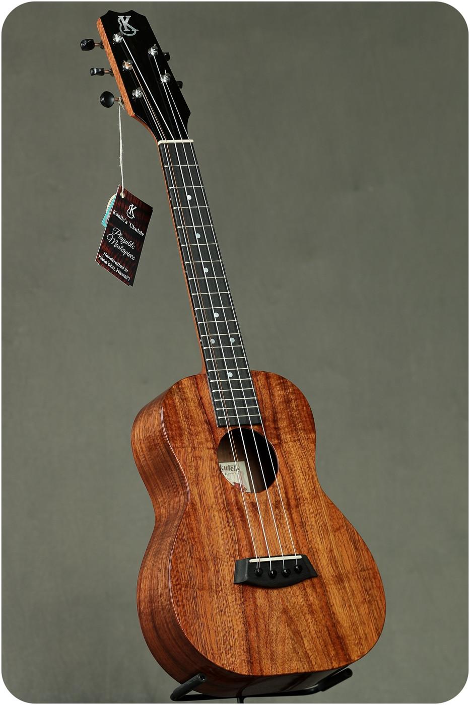 Kanile'a K-1 Koa Gloss Tenor 5 String (K-1 T5 Tru-R #21483)