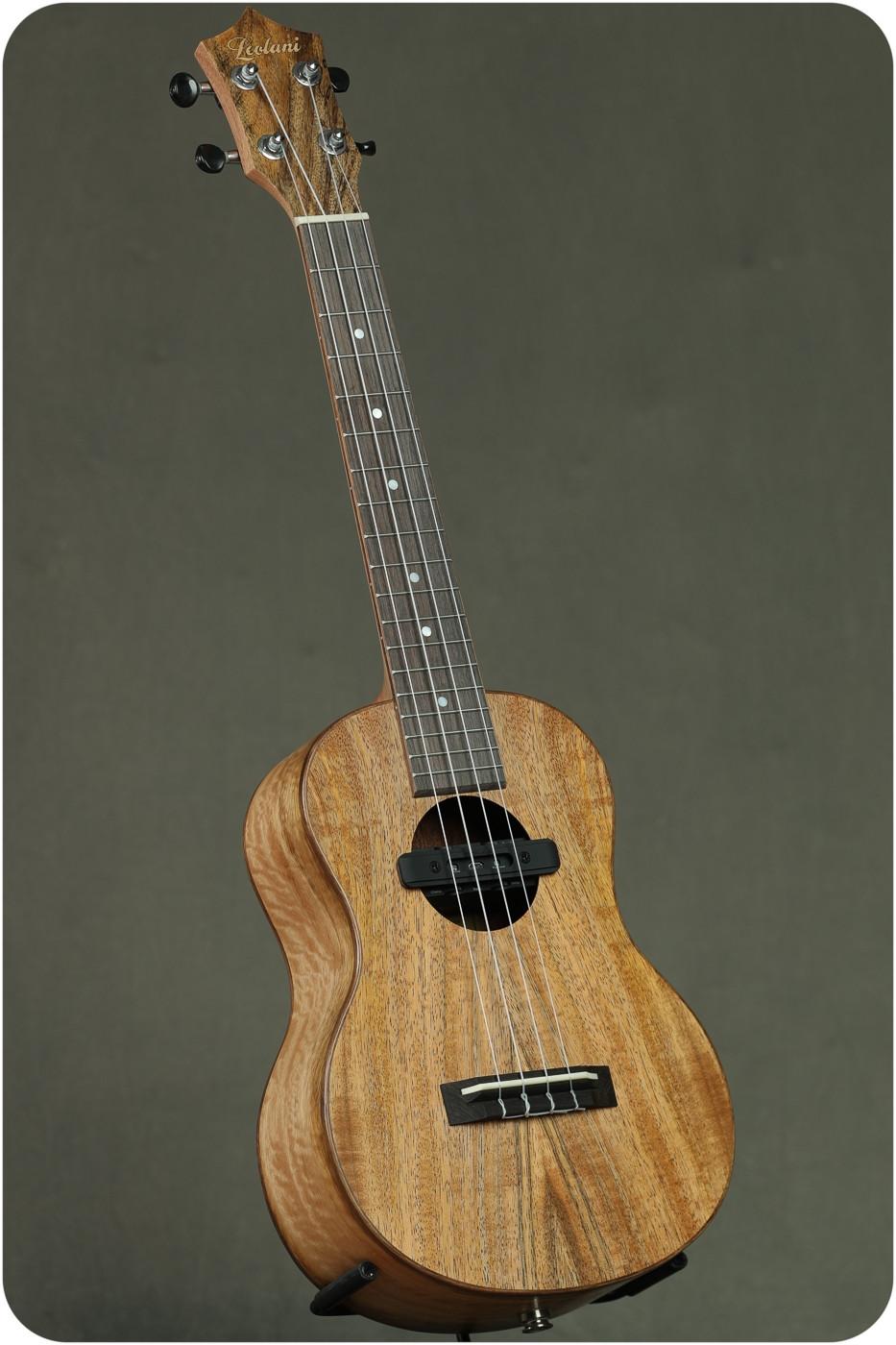 Leolani Mango Tenor w PU & Acoustic FX #35