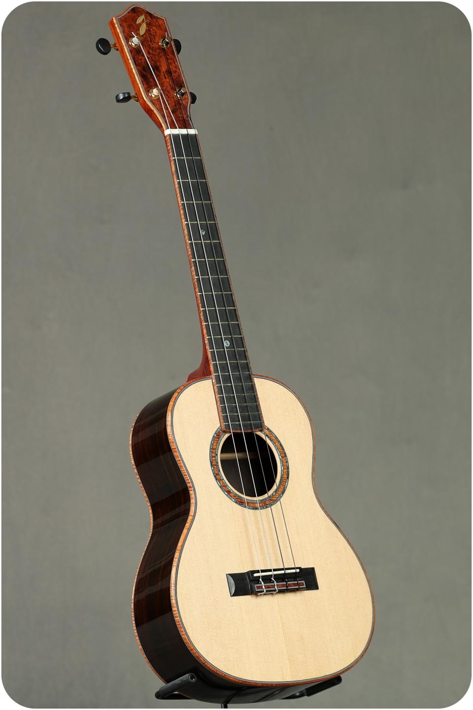Steve Grimes Custom German Spruce/ Brazilian Rosewood Tenor #982