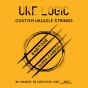"UKE LOGIC Baritone ""HARD TENSION"" High/Low D (6 options)"