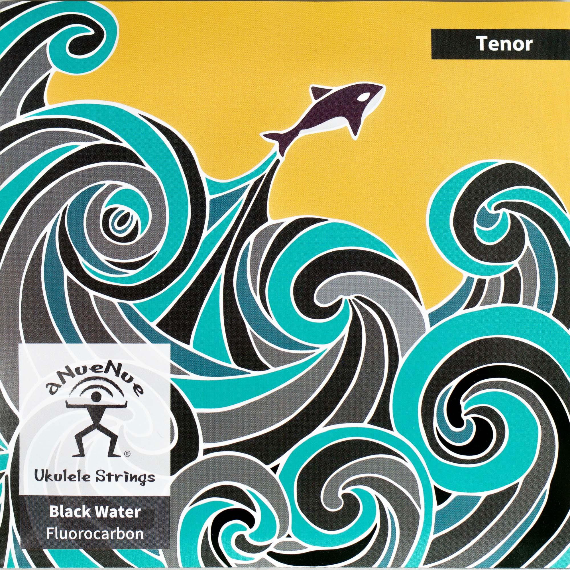 aNueNue Black Water Tenor String Set