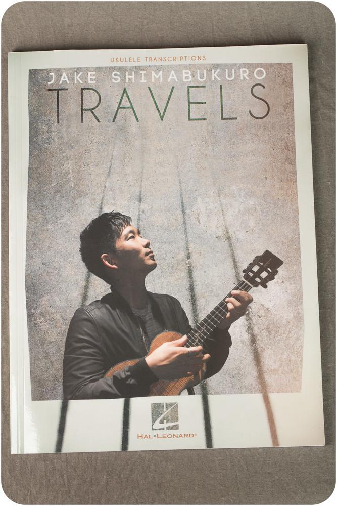Jake Shimabukuro – NEW Travels Album Ukulele Transcription Book