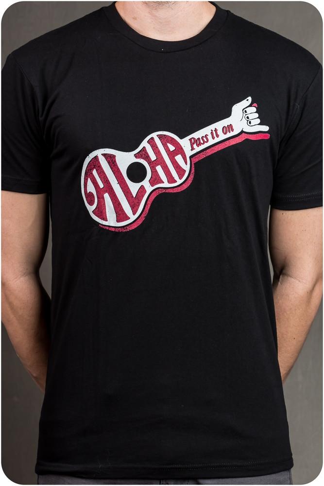 "Project Aloha T-Shirt - ""Aloha - Pass It On"" -"